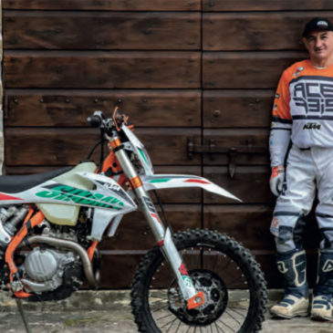 Test KTM EXC 450 Six Days 2021 per Endurista Magazine